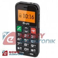 Telefon GSM M-LIFE ML0608       dla SENIORA