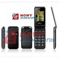 Telefon GSM MAXCOM MM821 BBczar czarny dla Seniora