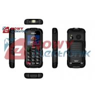 Telefon GSM MAXCOM MM910 czarny wodoodporny