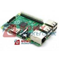 Raspberry Pi model B+ (komputer moduł) 512MB RAM 4xUSB Micro SD 700MHz