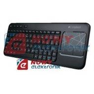 Klawiatura LOGITECH K400 Touch  bezprzewodowa z panelem dotykowym