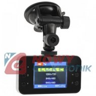 Rejestrator trasy Quer HD 1280x720,kamera CAR DVR