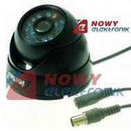 """Kamera kolor DZB-S5420V CCD1/3"""" 540L 0Lux 3,6mm,IR20m czarna"""