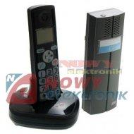 Zestaw domofonowybezprz.CL3622B EURA bezprzewodowy CZARNY