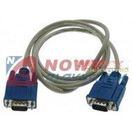 Kabel do mon. HDB15M/M 1,5m     wt./wt. SVGA