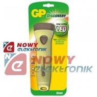 Latarka LED GP LHE409 DISCOVERY 2*R20