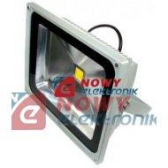 Halogen LED 50W GREY WCS ciepły Biały reflektor/naświetlacz