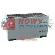 Zasilacz imp. DIN DRT480-24 24V 20A Impulsowy - Przem. na szynę 3-Faz.