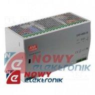 Zasilacz imp. DIN DRP 480-48    48VDC 10A Impulsowy - Przem. na szynę