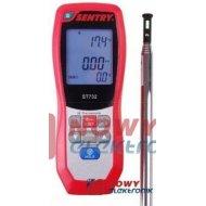 Miernik Anemometr ST732 z pirom prędkość przepł.powietrza i temperatury