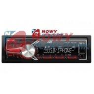Radio samoch.JVC KD-X210USB/RE /bluetooth ready,iPoda/iPhone/Windows