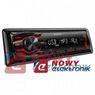 Radio samoch.KENWOOD KMM-100RY USB/AUX RED