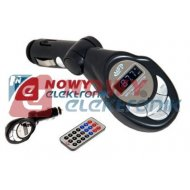 Transmiter FM(pilot,USB,SD,LCD) mikro USB