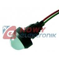 Kontrolka LED FI-20/12V-24V ziel AC/DC