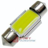 Dioda LED C5W 31mm COB-9SMD CAN CANBUS  Biała 12V