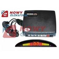 Czujnik Cofania Y2616 N-04 czarn odczyt cyfr+2 lin LED