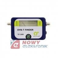 Miernik sygnału TV naz. TF-300 DVB-T FINDER