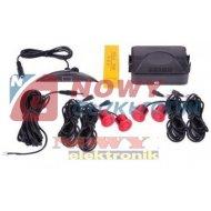 Czujnik Cofania Y2616 N-04 czerw /odczyt cyfr+2 lin LED