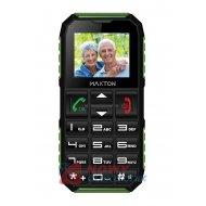 Telefon GSM MAXTON M60 DualSIM zielony dla seniora