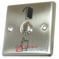 Przycisk kontroli dostępuBWK-90 wyjścia 36VDC/3A (90x90) podtyn.