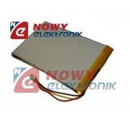 Akumulator do pakiet. 200mAh 3p LI-POLY 3p 3,7V 30X25X5,0