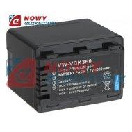 Akumulator do kamer VW-VBK360 4000mAh             (zam.dla Panas.)