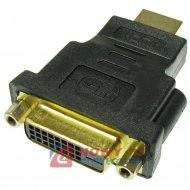 Adapter wt.HDMI - gn. DVI-D NEPOWER przejście