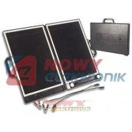 Bateria słoneczna walizkowa 13W VELLEMAN Solarna Panel