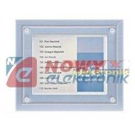 Panel NP-3000 Srebrny zewn. numerowa podśw./cyfrowy system domofono