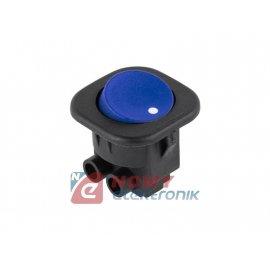 Przełącznik RS 101-7c niebieski kołyskowy niebieski