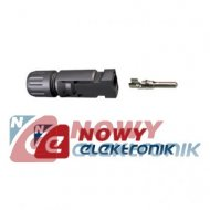 MC4 wtyk 4/6mm na kabel solar IP67