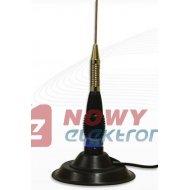CB antena samoch.ML145 PRESIDENT 6dbi
