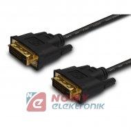 Kabel DVI-DVI 1.8m (24+1) GOLD Talvico DSKDV03G
