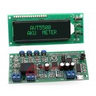 Zestaw AVT5500C Miernik pojemn. akumulatorów z USB Tester