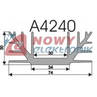 Radiator A4240 L-5cm