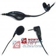 Mikrofon + słuch. z PTT do XTR  m.in.do Motorola Radiotelefony
