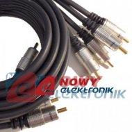 Kabel 4*RCA 2.5m HQ digital 2.5m