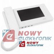 """Monitor Vid. M270W-S1 biały+ pam słuchawkowy/głośnomówiący 7""""/VIDOS"""