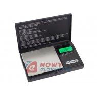 Waga precyzyjna elektr100g/0,01g miniaturowa E  otwierana klapka