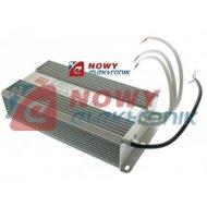 Zasilacz ZI LED 12V/20A IP67 AL Aluminium 250W Impulsowy