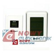 Termometr bezp. E0109T IN/OUT bezprzewodowy stacja