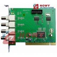 Karta komputerowa DVR 3144-wej. +polski soft,50kl/s,triplex PC