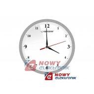 Zegar ścienny ESPERANZA EHC009W biały 30cm alum.
