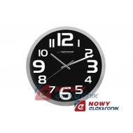 Zegar ścienny ESPERANZA EHC013K czarny 25cm