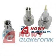 Wtyk anteny CRC9 / TS9 wymienny 2w1 na kabel RG174/RG316 Huawei ZTE