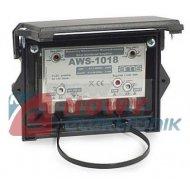 Wzmacniacz antenowy AWS-1018 DVB-T ze zwrotnicą, wej.UHF1 UHF2 VHF