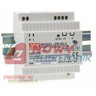 Zasilacz imp. DIN 12V/4.5A  DR60 DR 60-12 impulsowy   75mm