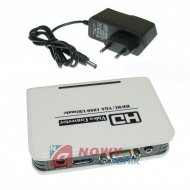 Konwerter HDMI/VGA Jakość HQ   Full HD wejście HDMI/wyjście VGA