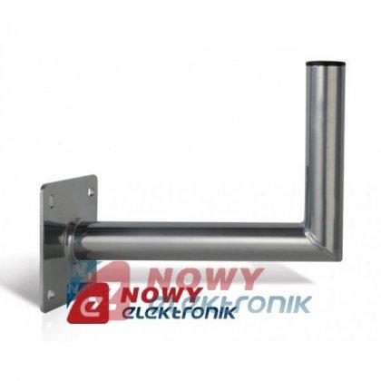 Uchwyt ant. ścienny USL-48/400AL aluminiowy fi48 dł:40cm wys.:24cm
