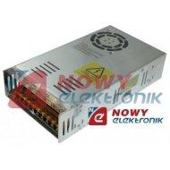 Zasilacz imp. 12V 400W 33A CCTV Przemysłowy